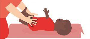 Bewegen met je baby omrollen stimuleren