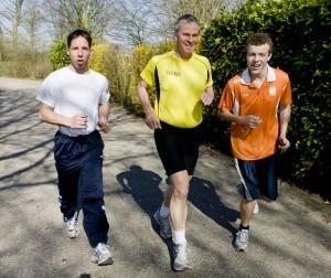 hardlopen als onderdeel van gezond bewegen