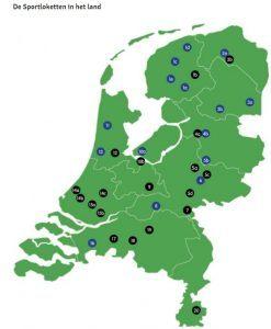 Sportloketten in Nederland - klik op afbeelding voor meer informatie en grotere weergave.