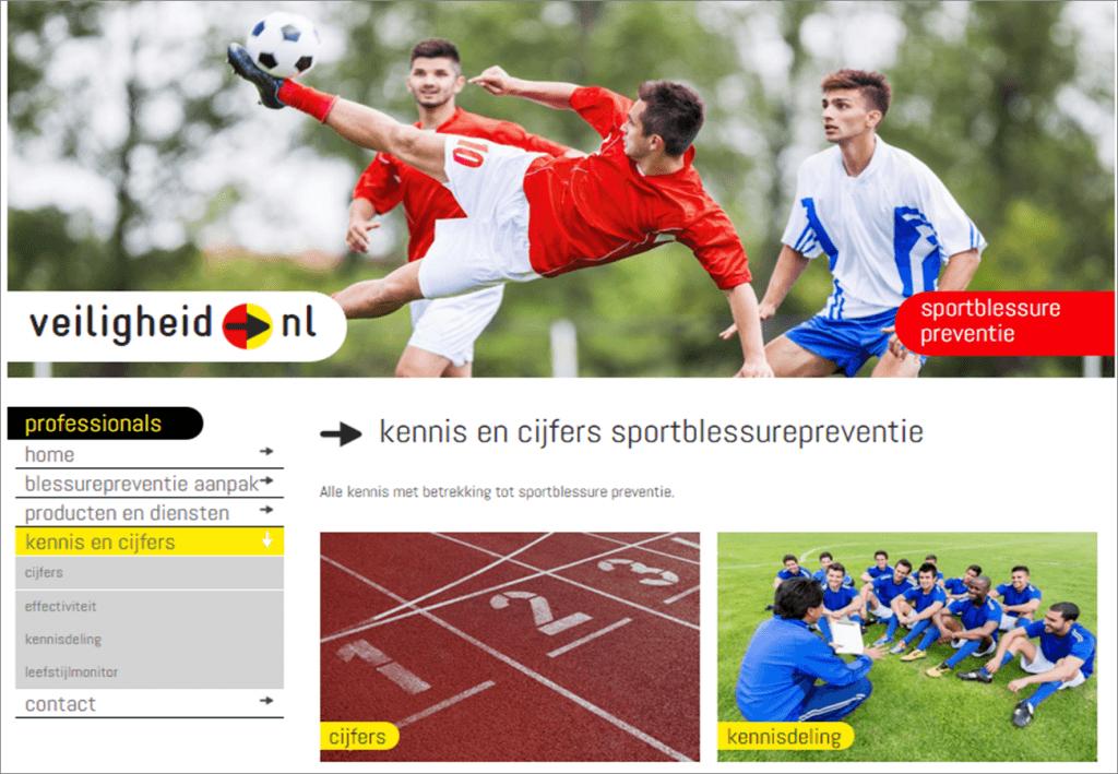 screenshot website VeiligheidNL