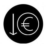 euro in cirkel