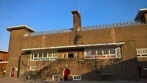 Het gebouw waarin De Halter is gevestigd