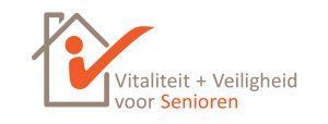 Logo Vitaliteit + Veiligheid voor Senioren
