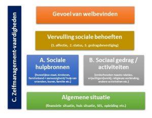 illustratie Zelfmanagement vaardigheden sociale kwetsbaarheid