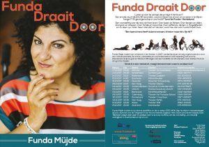 Affiche theater tour Funda draait door