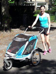 Hardlopen met de buggy