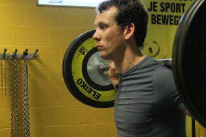 Stefan Groothuis in training