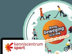 De Beweegcirkel met logo van Kenniscentrum Sport