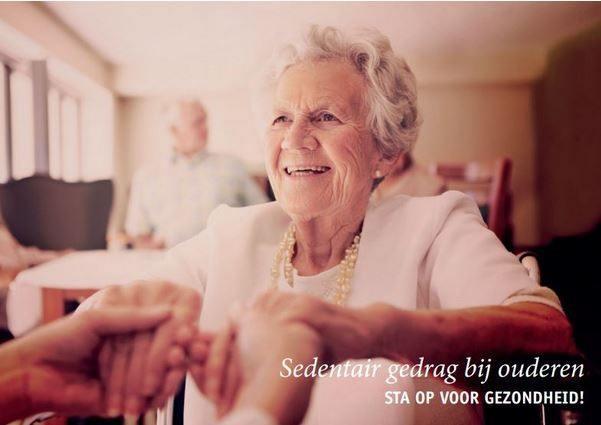 voorkant brochure sedentair gedrag bij ouderen