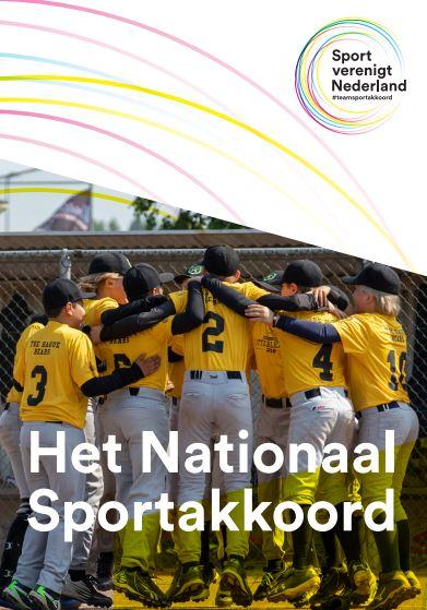Voorblad van Het Nationaal Sportakkoord
