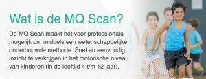 Uitleg over de MQ scan