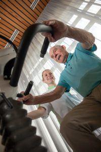 fitness in ziekenhuis
