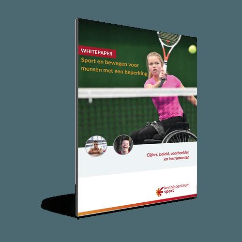 Whitepaper Sport en bewegen voor mensen met een beperking