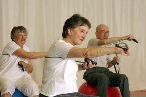ouderen sporten