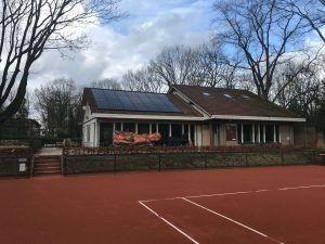 LTV Flehite zonnepanelen op het dak