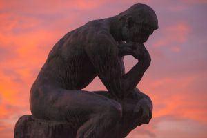 standbeeld De Denker