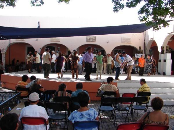 dansplein in Guatemala