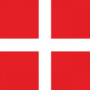vlag van Denemarken