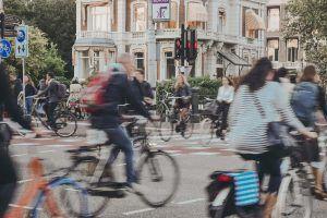 Amsterdam fietsers