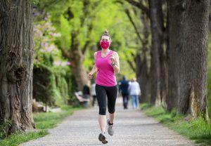 corona sport hardlopen park