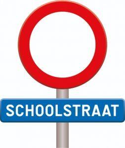 Verkeersbord schoolstraat