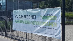 Spandoek over verduurzaming in Limburg