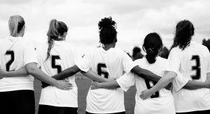 dames voetbalteam