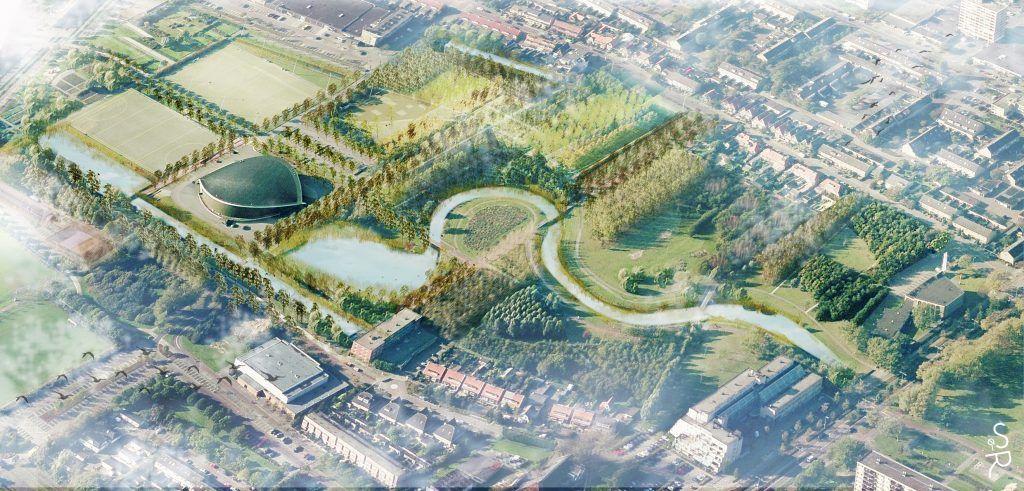 Overzicht Open Sportpark Landgoed Andrichem